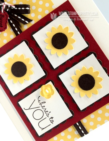 Stampin up pretty order online demonstrator blog punch card ideas catalogs