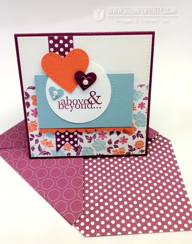 Stampin up demonstrator order online catalog mojo monday punches paper piercing blog card idea