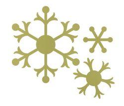 Snow Flurry Bigz Die