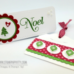 Stampin' Up! Merry Minis Holiday Tags