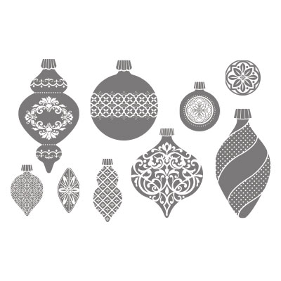 Ornament keepsakes stampin up rubber stamps