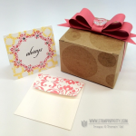 Stampin' Up! Card & Box from Convention