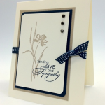 Simple Stampin' Up! Love & Sympathy Card