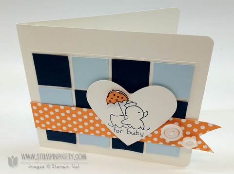 Stampin up stampinup stamp it card idea punch catalog baby blogs demonstrator