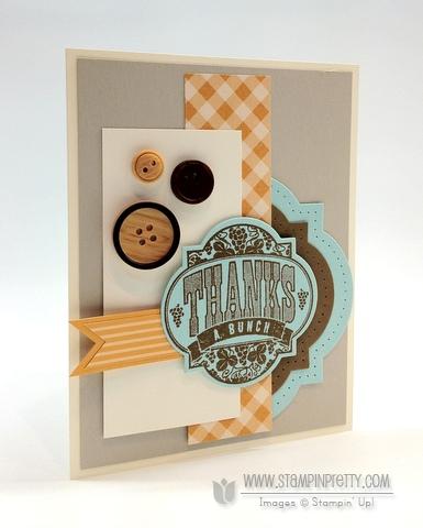 Stampin up stampinup stamp it card idea blog punch big shot framelilts masculine thank yous