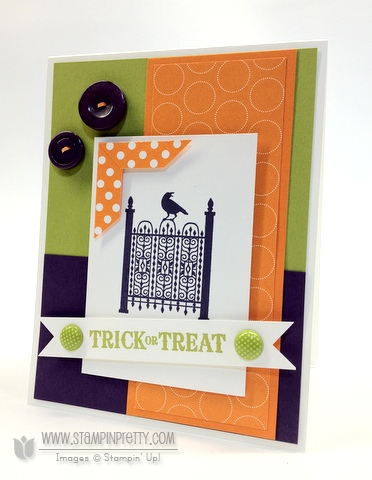 Stampin up stampinup stamp it card idea punch catalog halloween demonstrators