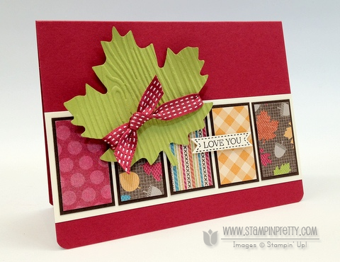 Stampin up stampinup stamp it card catalog fall idea demonstrator blog hop