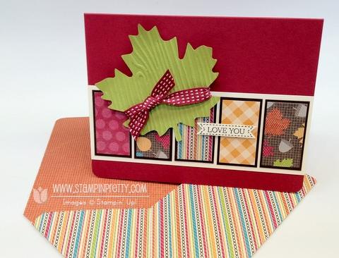 Stampin up stampinup stamp it card catalog fall idea demonstrators blog hop