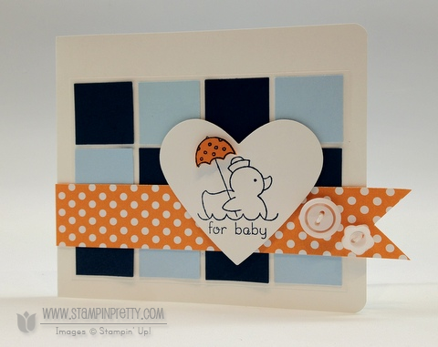 Stampin up stampinup stamp it card idea punch catalogs baby blog demonstrator