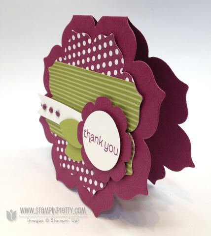 Stampin up stampinup stamp card idea floral frames framelits dies mojo monday punch demonstrator