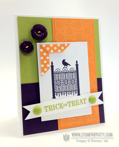 Stampin up stampinup stamp it card idea punch catalog halloween demonstrator
