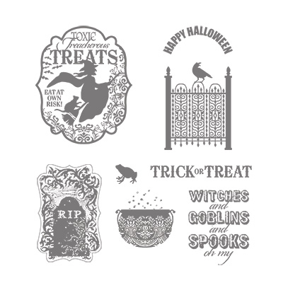 Toxic treats stampin up stampinup card ideas halloween