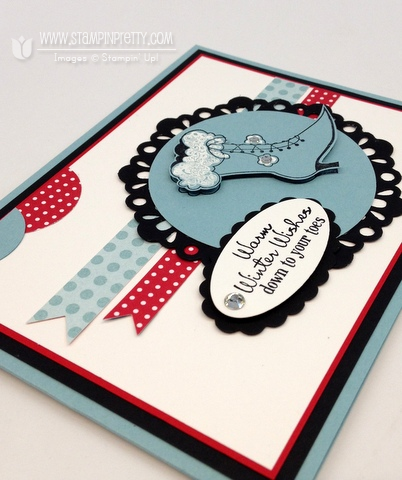 Stampin up stampinup stamp it card big shot ideas holiday mojo monday punch catalogs blog