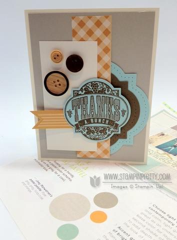 Stampin up stampinup stamp it card idea blog punch big shot framelilts thank you blog