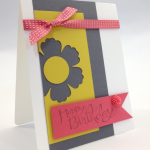 Stampin' Up! Card for the Birthday Girl