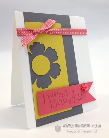 Stampin up stampinup stamp it card idea punch birthday catalog