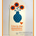 Simple Stampin' Up! Bookmark