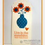 Simple Stampin' Up! Bookmark
