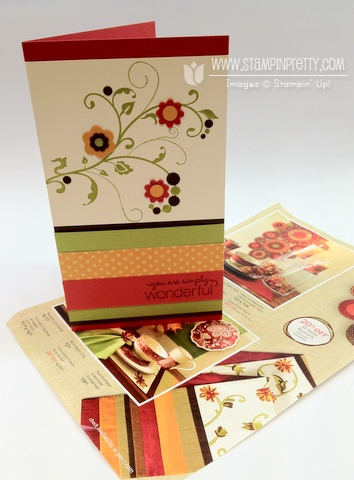 Stampin up stampinup stamp it card ideas demonstrator punch catalog blog fall