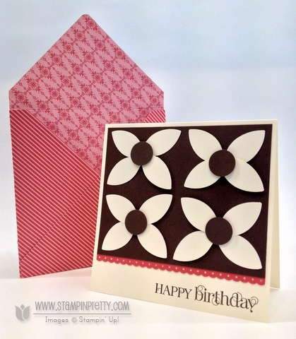 Stampin up stampinup stamp it card punch birthday catalog demonstrators blog tutorial
