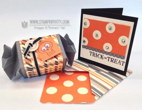 Stampin up stampinup halloween card ideas candy wrapper bigz L die big shot machine