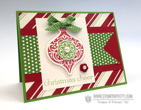 Stampin up stampinup stamp it holiday card idea catalogs demonstrator ornament keepsakes