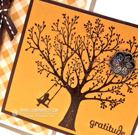Stampin up stampnup fall autumn card ideas heat emboss catalog demonstrator