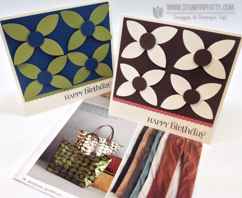 Stampin up stampinup stamp it card punch birthday catalog demonstrator blogs tutorials