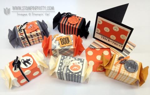 Stampin up stampinup halloween card ideas candy treat wrapper bigz L die big shot machine die cutting