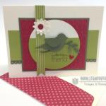 Mojo Monday Bird Silhouette Card