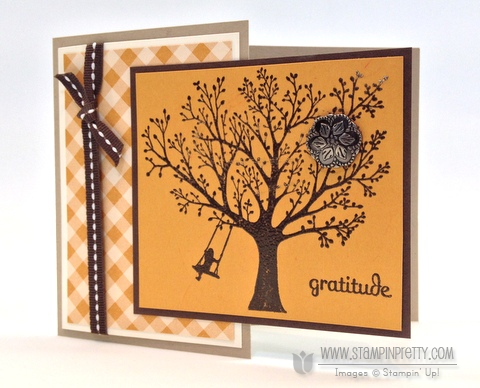 Stampin up stampinup stampin it fall autumn card ideas heat emboss catalog demonstrators