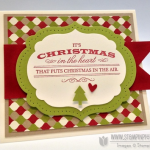 Stampin' Up! Heart of Christmas Card