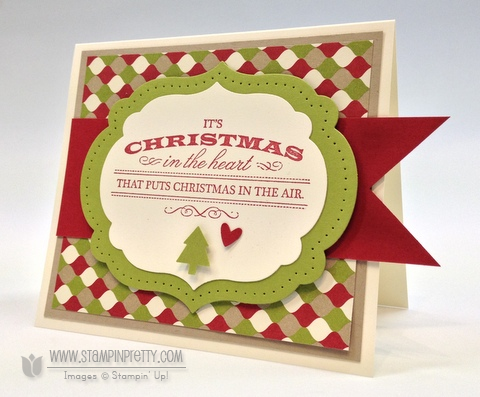 Stampin' Up! Heart of Christmas Card | Stampin' Pretty