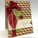 Stampin' Up! 3-D Ornament Keepsakes Card