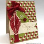 Stampin' Up! 3-D Ornament Keepsakes Card