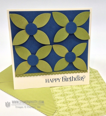 Stampin up stampinup stamp it card punch birthday catalog demonstrator blog tutorial