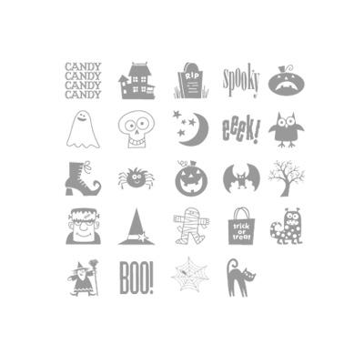 Spooky bingo bits stampin up stampnup card ideas
