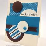 Mojo Monday Masculine Birthday Card