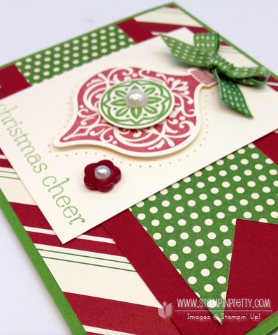 Stampin up stampinup stamp it holiday card ideas catalog demonstrator ornament keepsakes