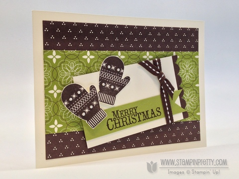 Stampin up stampinup stampin it catalog punch holiday demonstrator card idea
