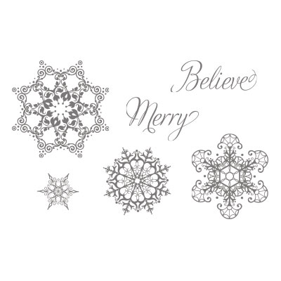 Snowflake soiree stampin up stampinup card ideas