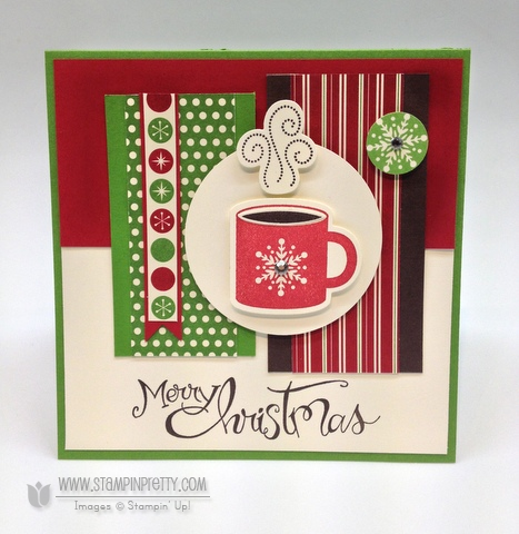 Stampin up mojo monday holiday card ideas sassy salutations punch catalog stampinup framelit