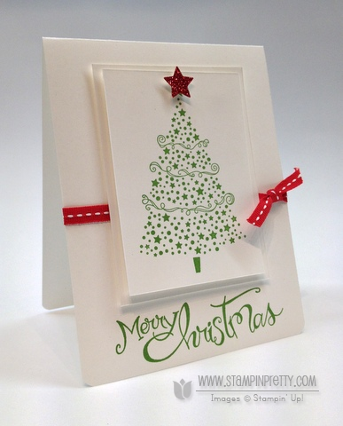 I'm Dreaming of a White Christmas Card | Stampin' Pretty