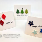 Stampin' Up! Merry Minis Gift Cards