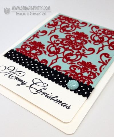 Stampin up stampinup christmas holiday card idea catalog punch