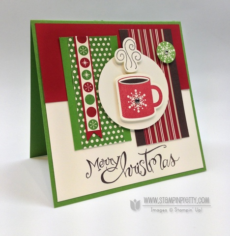 Stampin up mojo monday holiday card ideas sassy salutations punch catalog stampinup