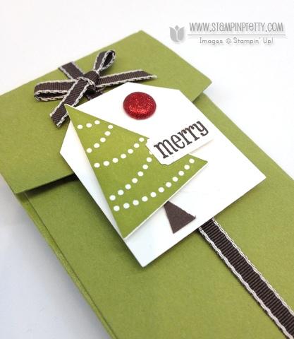 Stampin up stampinup stamp it big shot petite pocket biz die holiday catalog gift card ideas pennant punch