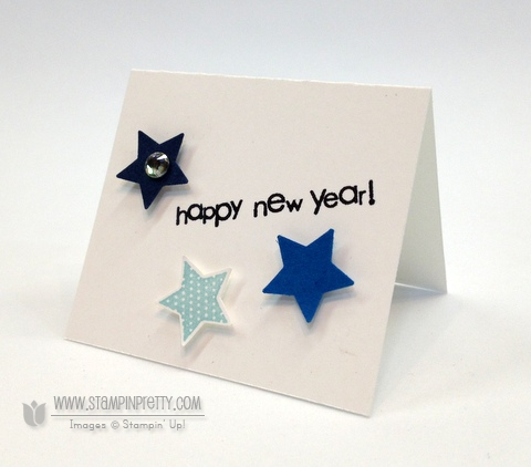 Stampin up stampinup stamp it punch holiday catalog card idea new years tag gift demonstrators