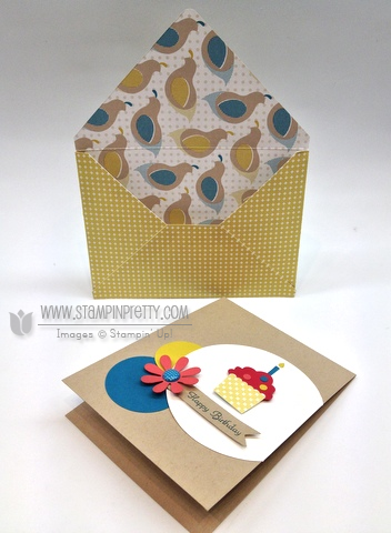 Stampin up stampinup stamp it catalog card idea demonstrator punch mojo monday envelope