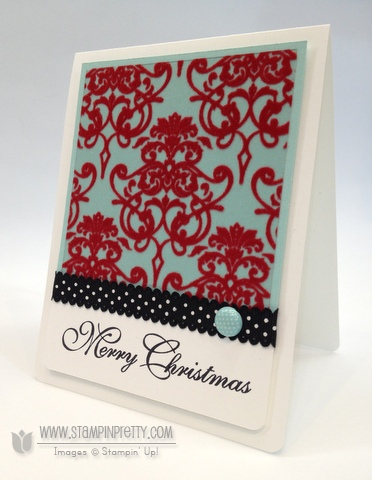 Stampin up stampinup christmas holiday card ideas catalog punch